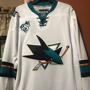 Authentic San Jose Sharks Jersey